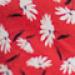 Robe grossesse et allaitement à imprimé floral - Rouge