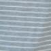 Robe midi grossesse et allaitement rayée- Gris/ Blanc