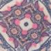 Maxi Umstandskleid mit Knotendetail - Paisley