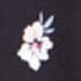 Black Floral Maternity & Nursing Dress