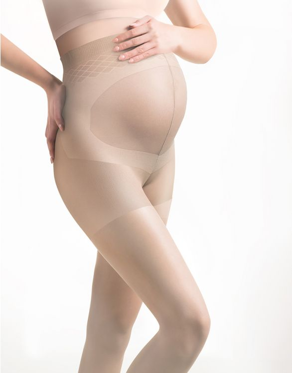 Image for 20 Denier Nude Maternity Tights