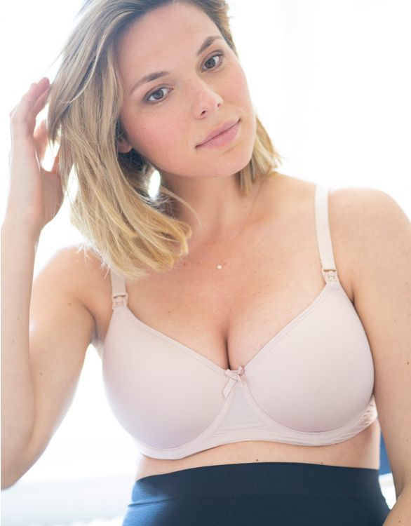 Image for Seraphine Nude T-Shirt Maternity & Nursing Bra