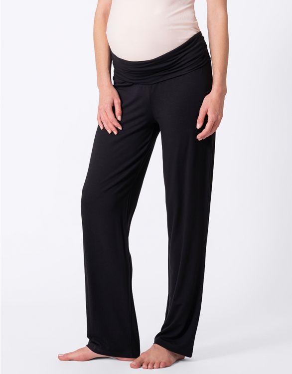 Image pour Pantalon grossesse fluide - Noir