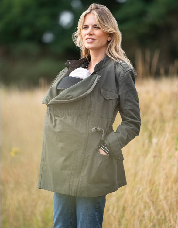 Image for Khaki 3 in 1 Maternity  Jacket