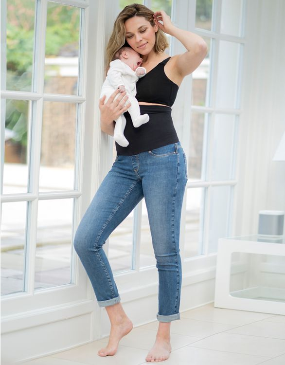 Image for Post Maternity Shaping Boyfriend Jeans