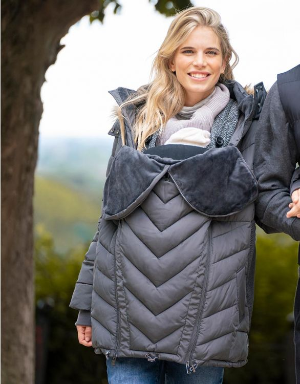 Image for Slate Eco-Down 3 in 1 Maternity Coat