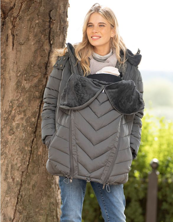 Image for Slate 3 in 1 Maternity Puffer Jacket