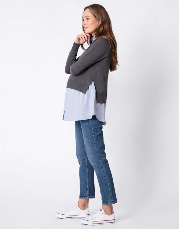 Image for High-Low 2 in 1 Maternity & Nursing Jumper