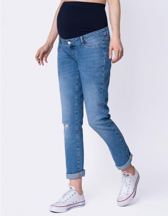 Image pour Ripped Boyfriend Maternity Jeans