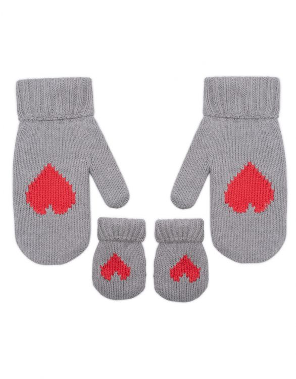 Image for Cotton Blend Mama & Mini Matching Mittens