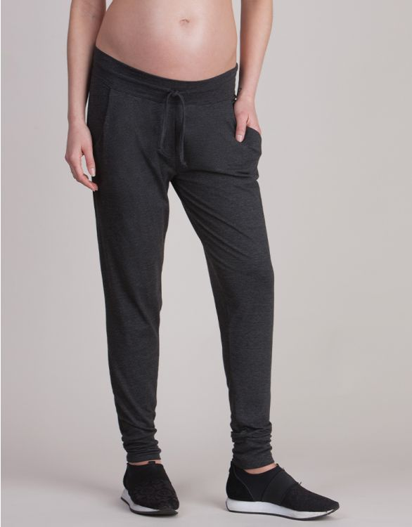 Image for Charcoal Marl Maternity Lounge Pants