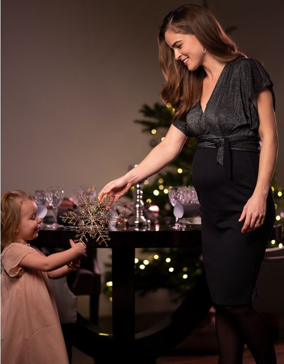 Image pour Robe grossesse avec décolleté dans le dos