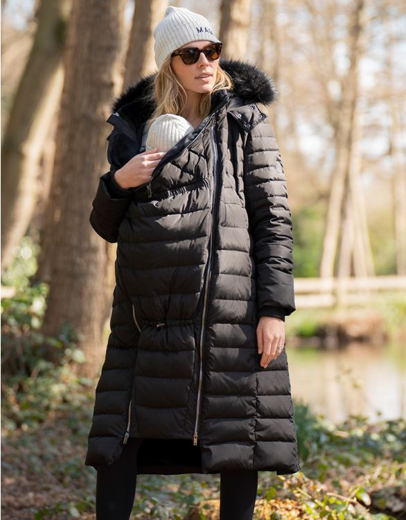 Image for Extra Long 3 in 1 Down Maternity Coat