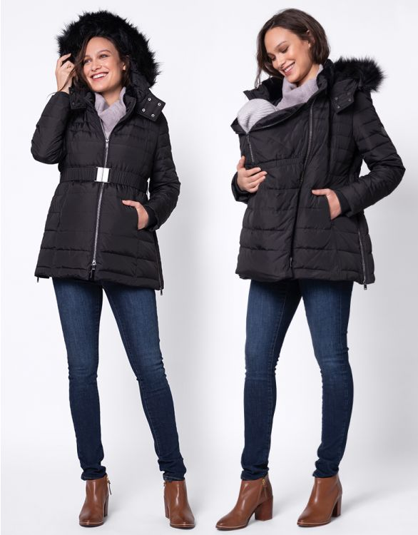 Image for Short 3 in 1 Down Maternity Coat