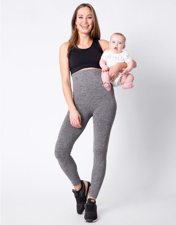 Image for Charcoal Post Maternity Shaping Leggings
