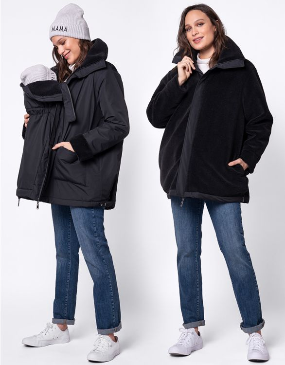 Image for Reversible 3 in 1 Maternity Coat