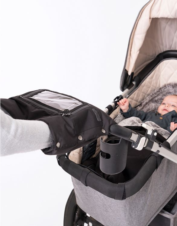 Image for Pram Mitt with Touchscreen Phone Pocket