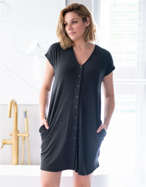 Image for Organic Cotton Birthing Gown