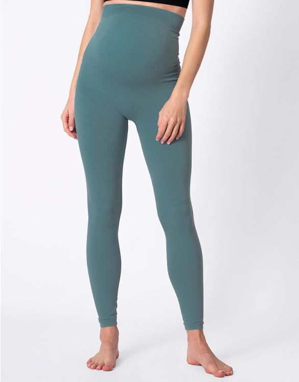 Image for Sage Green Hug-a-Bump Maternity Leggings