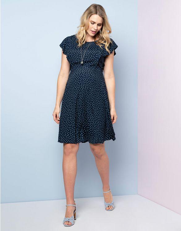 Bild für Umstandskleid und Stillkleid mit verstecktem Reißverschluss