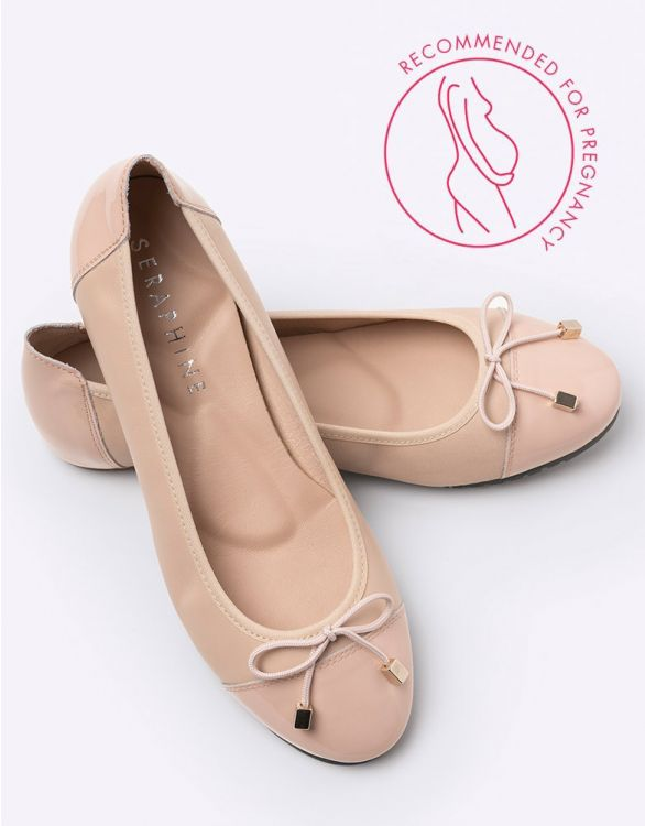Image for Nude Ballet Pumps