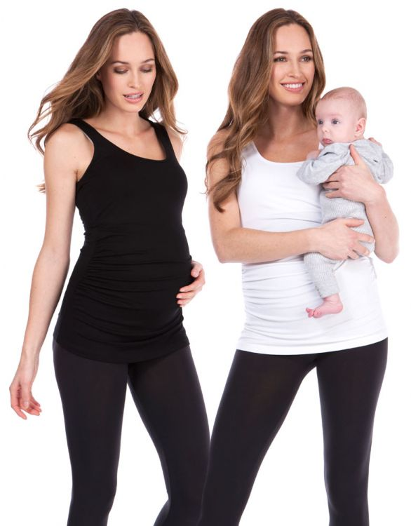 Image for Maternity & Nursing Tank Tops - Twin Pack