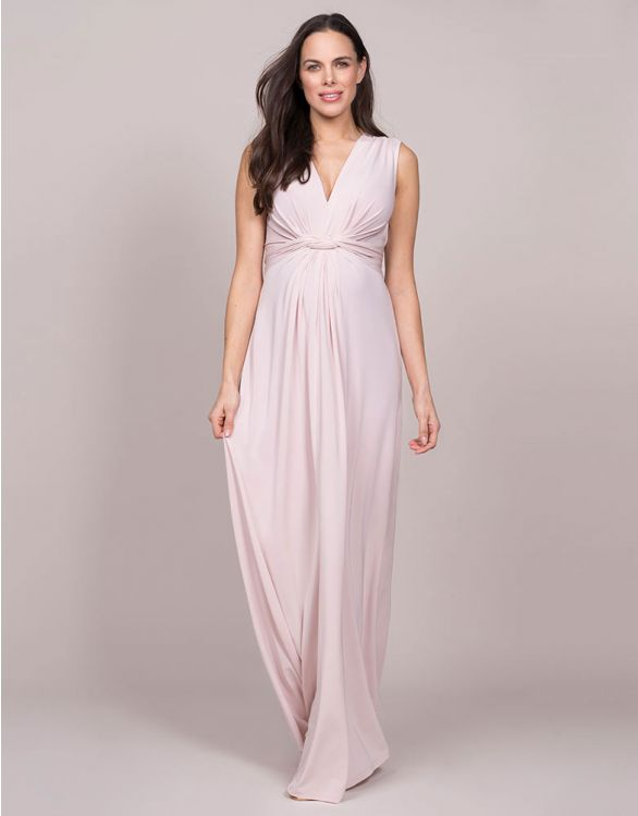 Image for Blush Draped Maternity Gown