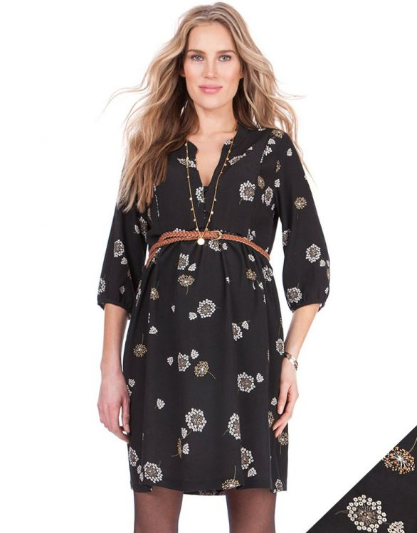 Image for Floral Woven Maternity Dress