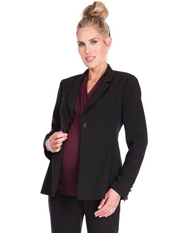 Image for Black Maternity Jacket