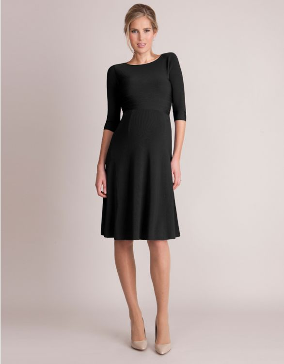 Image for Luxury Black Maternity Dress