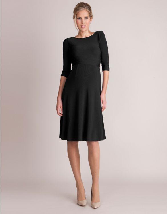 Bild für Luxuriöses schwarzes Umstandskleid