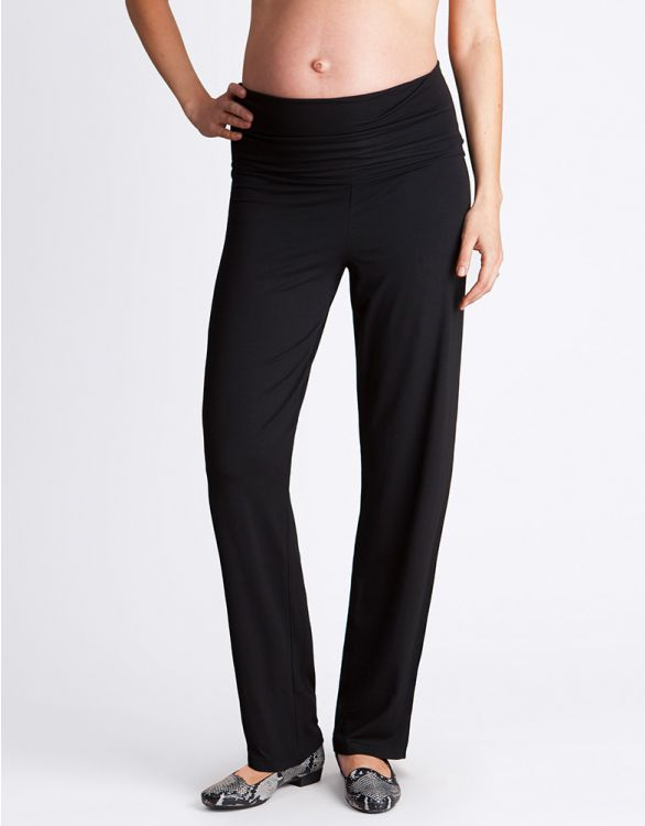 Image for Black Maternity Lounge Pants