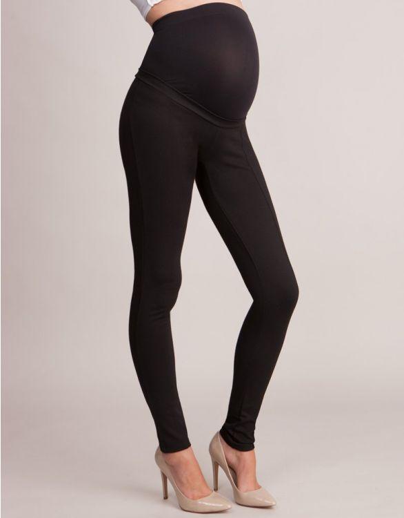 Image pour Tregging grossesse taille haute - Noir