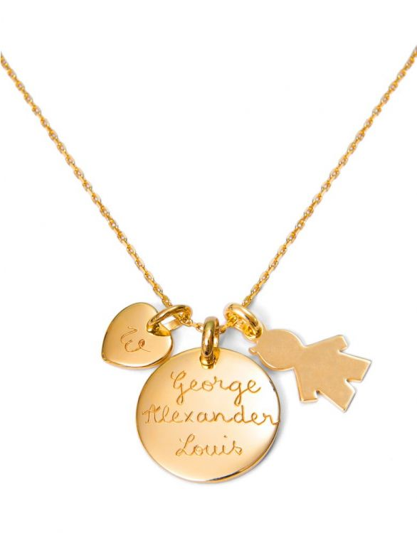 Image for Personalised Duchess Necklace - Boy