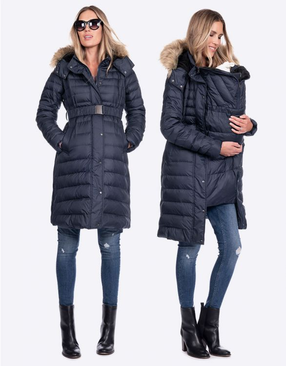 Image for 3 in 1 Down Maternity Coat