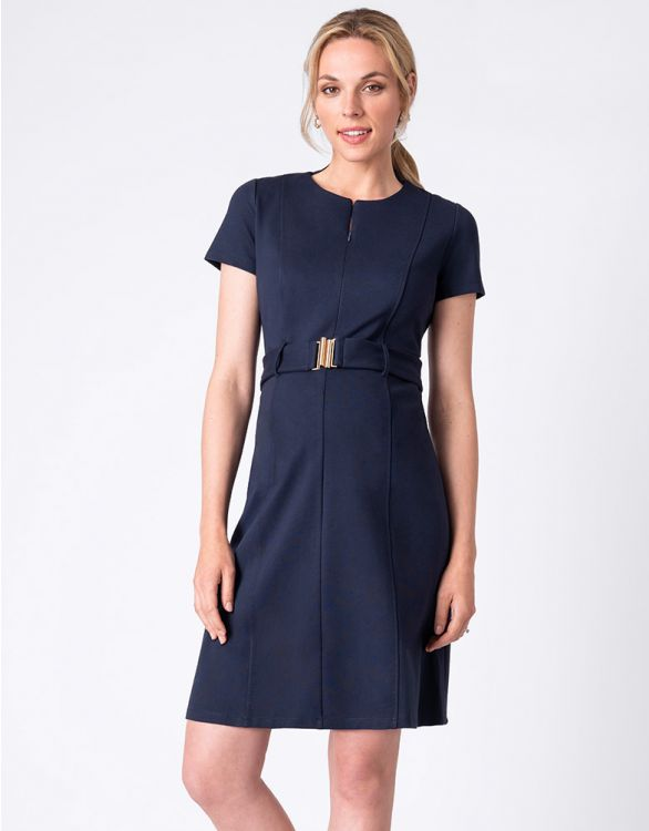 Image for Ponte Maternity & Nursing Dress