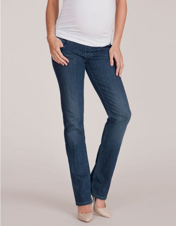 Image for Under Bump Straight Leg Maternity Jeans