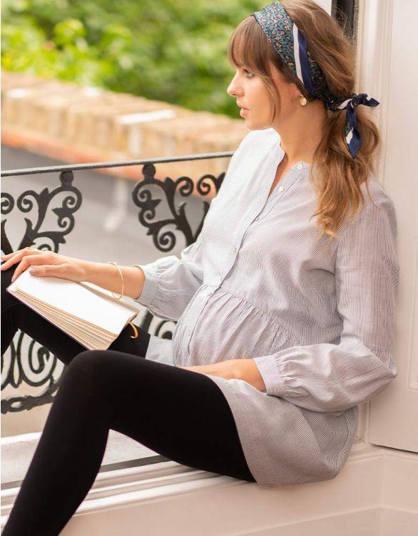 Image pour Tunique grossesse à rayures