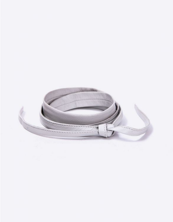 Image for Tie Leather Maternity Belt