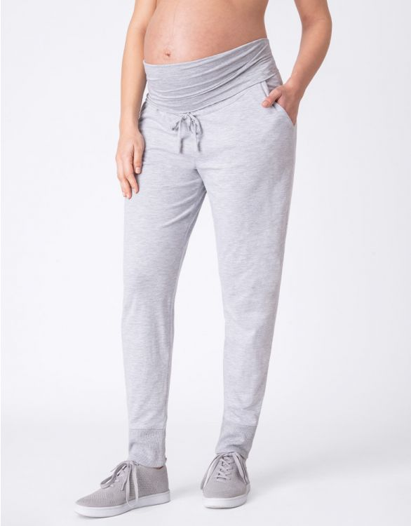 Image for Grey Marl Maternity Joggers