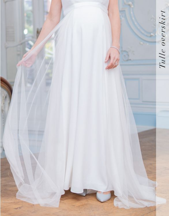 Image for Tulle Bridal Overskirt