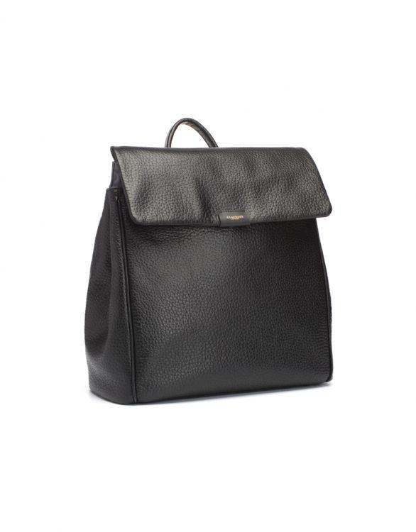 Image pour Sac à dos convertible en cuir Storksak St James  – Noir