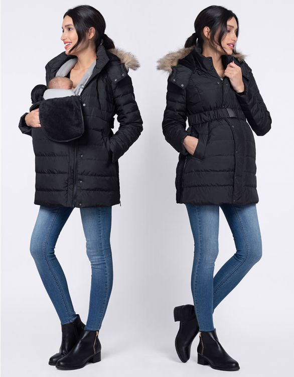 Image for 3 in 1 Maternity Winter Coat
