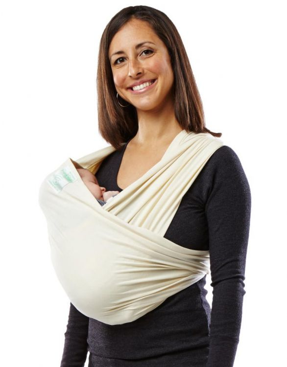 Image for Baby K'tan ORGANIC Cotton Wrap Baby Carrier - natural