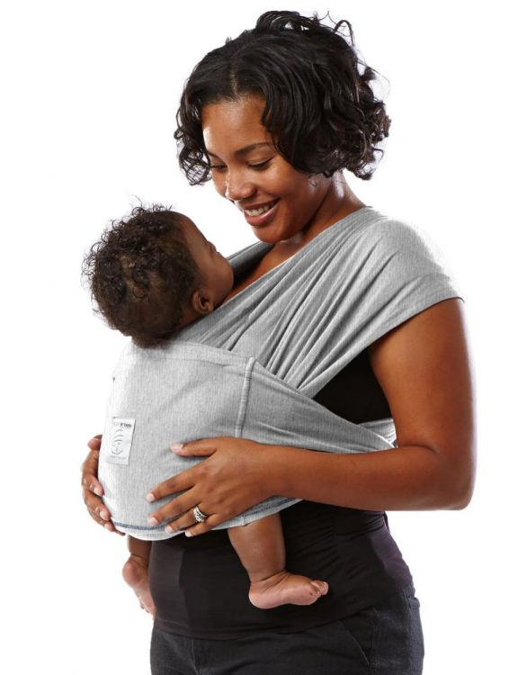 Image for Baby K'tan ORIGINAL Cotton Wrap Baby Carrier - Grey