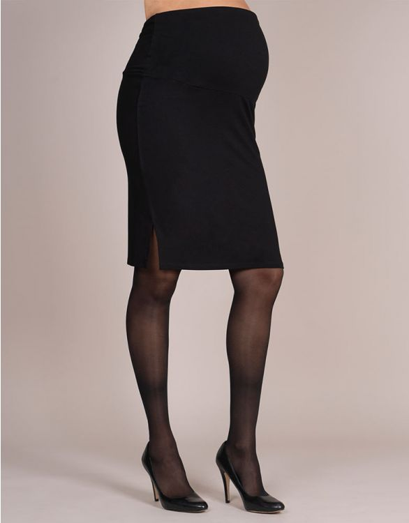Image for Adjustable Black Maternity Skirt
