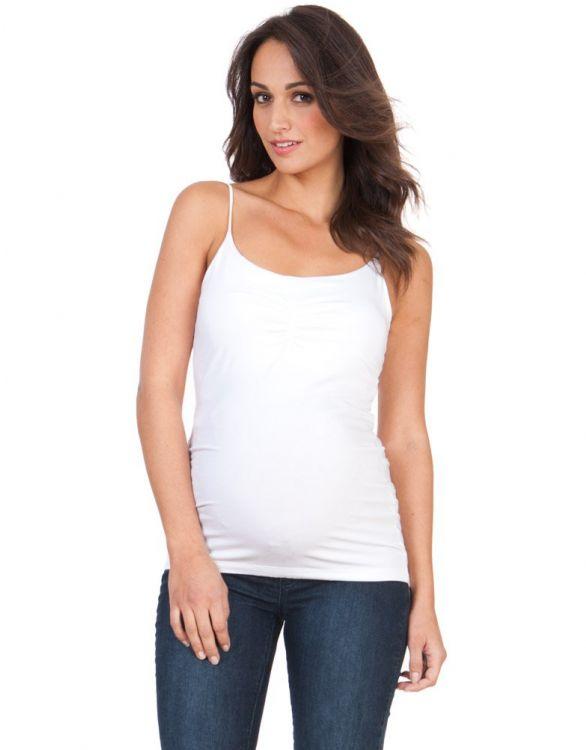 Image for White Secret Support Maternity Vest