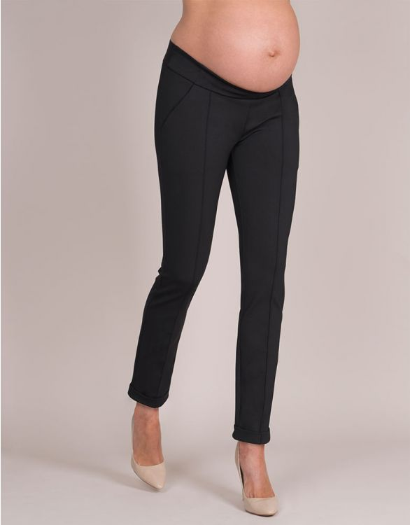 Image for Smart Black Maternity Pants
