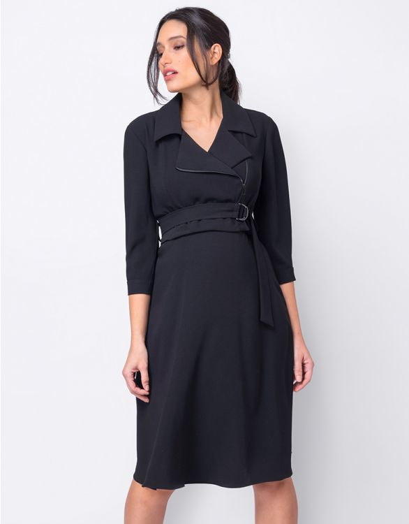 Image for Premium Trench Maternity & Nursing Dress