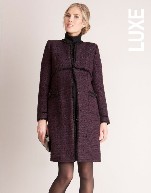 Image for Seraphine Marina Maternity Coat